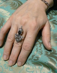 anello indossato