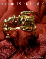 gold ring skeleton skull