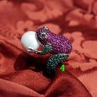 rana perla anello