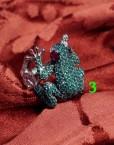 rana verde anello