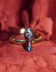 anello argento moretto
