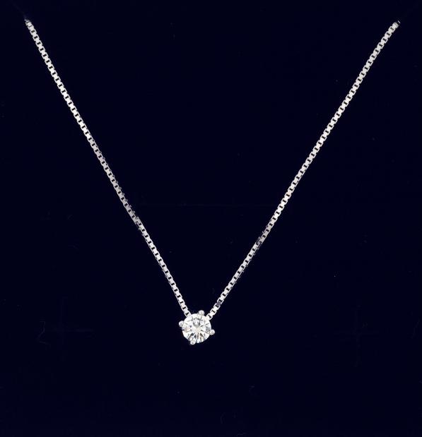Light point pendant with synthetic diamond gioielli for Punto luce bari