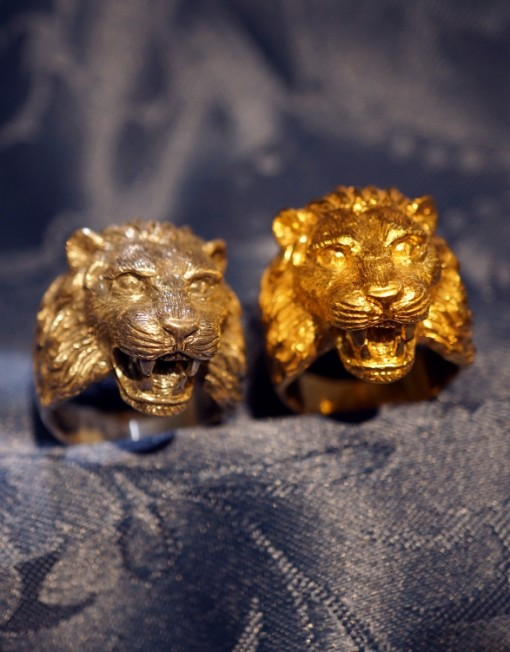 lions gold ring