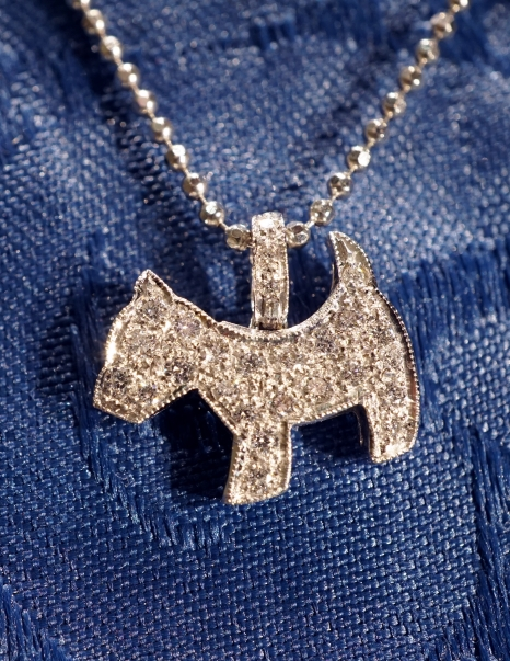 dog pendant terrier
