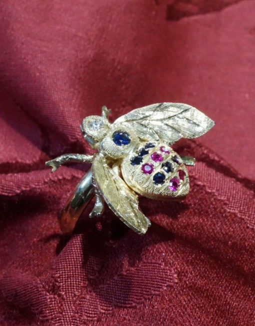 ape anello bee ring