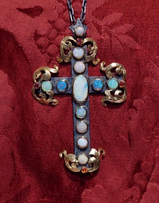 cross opal